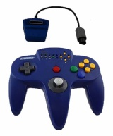 N64 Controller: Retro-Bit Wireless Controller (Blue)