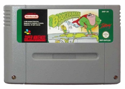 Boogerman: A Pick and Flick Adventure - SNES