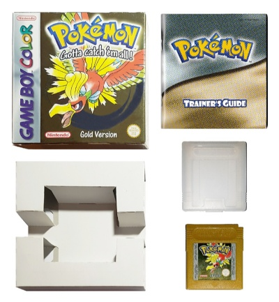 Pokemon: Gold Version (Boxed with Manual) - Game Boy