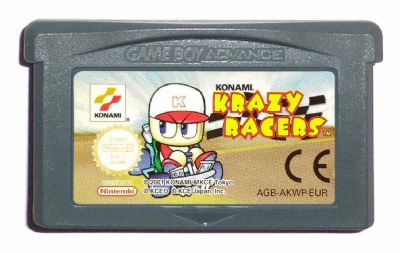 Konami Krazy Racers - Game Boy Advance