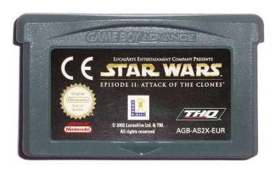 Star Wars: Episode II: Attack of the Clones - Game Boy Advance