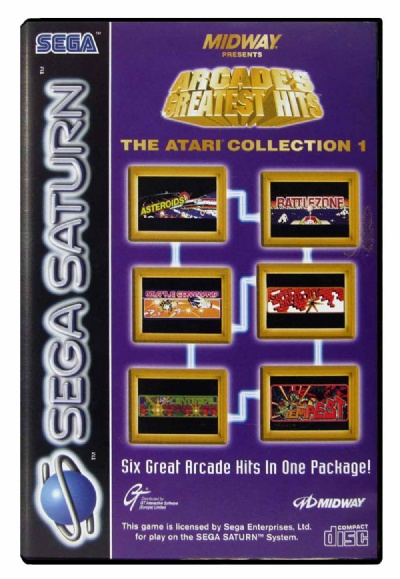 Arcade Greatest Hits: Atari Collection 1 - Saturn