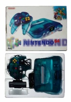 N64 Console + 1 Controller (Clear Blue) (Boxed)