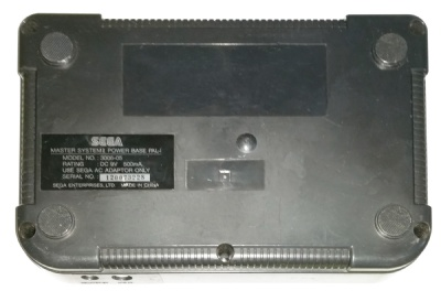 Master System II Replacement Part: Official Console Shell (Bottom) - Master System