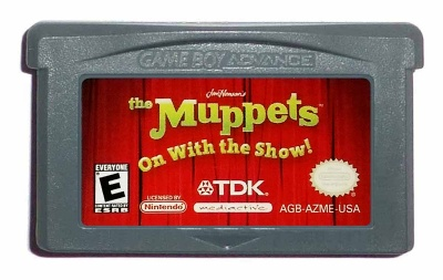 The Muppets: On With the Show! - Game Boy Advance