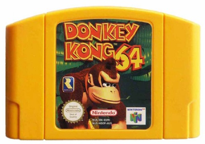 Donkey Kong 64 (Limited Yellow Edition) - N64