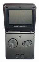 Game Boy Advance SP Console (Onyx Black) (AGS-001)