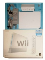 Wii Console + 1 Controller (White) (Boxed)