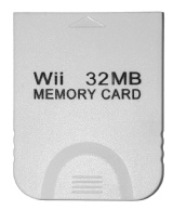 Wii Memory Card