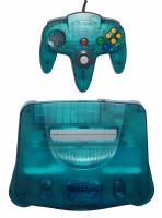 N64 Console + 1 Controller (Clear Blue)