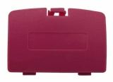Game Boy Color Console Battery Cover (Berry Red)