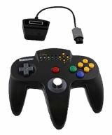 N64 Controller: Retro-Bit Wireless Controller (Black)