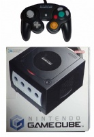 Gamecube Console + 1 Controller (Black) (Boxed)