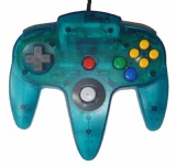 N64 Official Controller (Clear Blue)