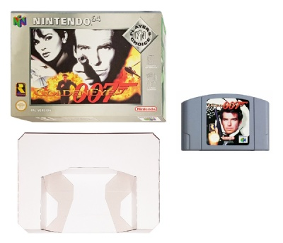 007: Goldeneye (Player's Choice) (Boxed) - N64