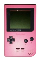 Game Boy Pocket Console (Pink) (MGB-001)