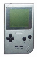 Game Boy Pocket Console (Silver) (MGB-001)
