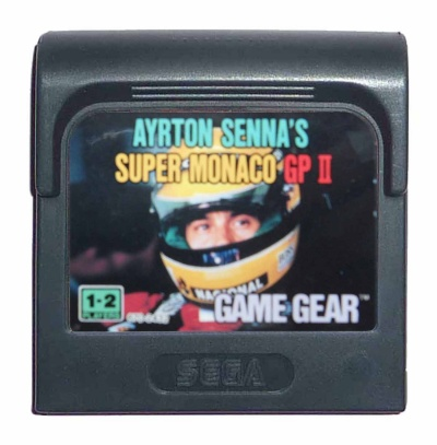 Ayrton Senna's Super Monaco GP II - Game Gear