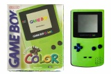 Game Boy Color Console (Kiwi Green) (CGB-001) (Boxed)