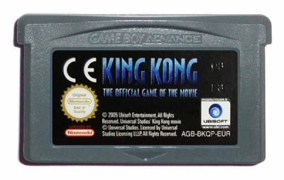 King Kong: The Official Game of the Movie - Game Boy Advance
