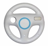 Wii Official Steering Wheel (White)