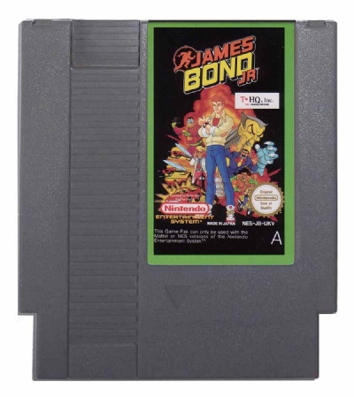 James Bond Jr. - NES