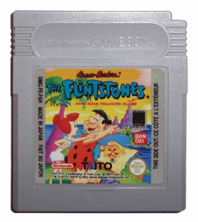 The Flintstones: King Rock Treasure Island - Game Boy