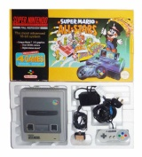 SNES Console + 1 Controller (Boxed) (Super Mario All-Stars Version)