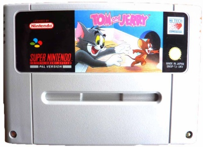 Tom and Jerry - SNES