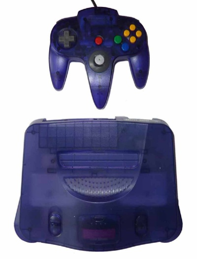 N64 Console + 1 Controller (Grape Purple) - N64