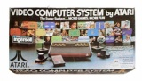 Atari 2600 Console + 1 Controller (CX2600 6-Switch Woody Version) (Boxed)