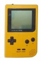 Game Boy Pocket Console (Yellow) (MGB-001)