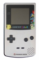 Game Boy Color Console (Pokemon Silver & Gold) (CGB-001) (Original shell)