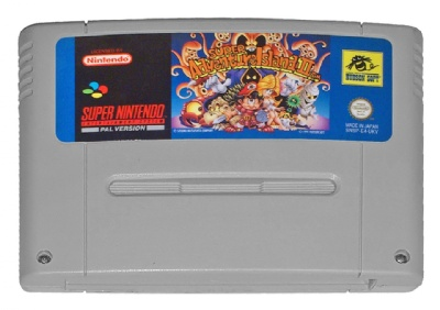 Super Adventure Island II - SNES