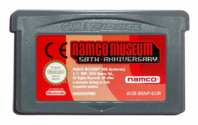 Namco Museum: 50th Anniversary - Game Boy Advance