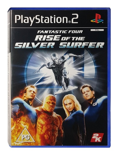 Fantastic Four: Rise of the Silver Surfer - Playstation 2
