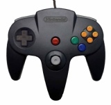 N64 Official Controller (Black)
