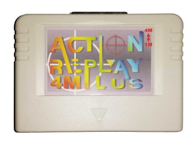 Saturn Action Replay 4M Plus Cheat Cartridge - Saturn