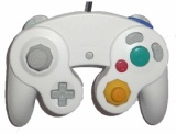 Gamecube Controller: Third-Party Replacement Controller (White)