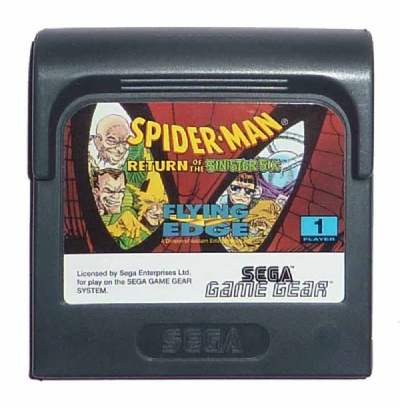 Spider-Man: Return of the Sinister Six - Game Gear