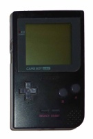Game Boy Pocket Console (Black) (MGB-001)