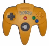 N64 Official Controller (Pokemon Yellow)