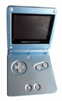 Game Boy Advance SP Console (Pearl Blue) (AGS-101)