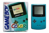 Game Boy Color Console (Teal Blue) (CGB-001) (Boxed)
