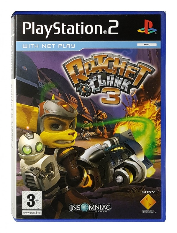 Buy Ratchet Clank 3 Up Your Arsenal Playstation 2 Australia