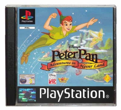 Peter Pan: Adventures in Neverland - Playstation