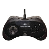 Saturn Official Controller (Model 2) (Black)