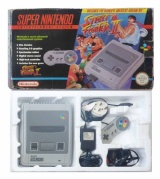 SNES Console + 1 Controller (Boxed) (Street Fighter II Version)