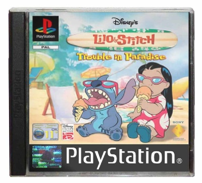 Disney's Lilo & Stitch: Trouble in Paradise - Playstation