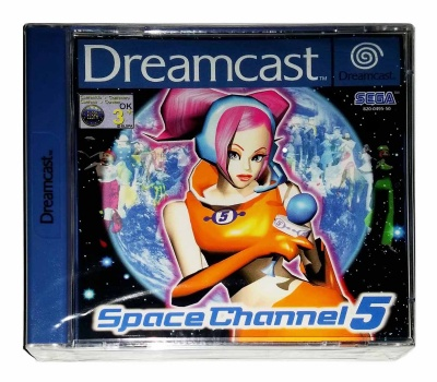 Space Channel 5 (New & Sealed) - Dreamcast
